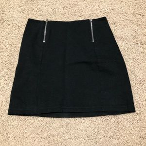 brandy melville black skirt